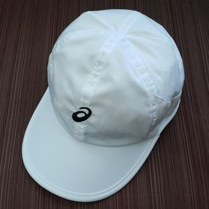 Asics women or men hat cap one size white